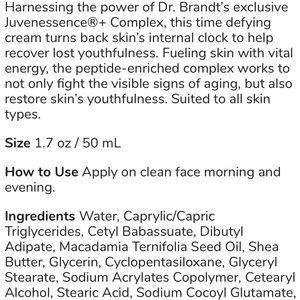 dr. brandt Other - Dr. Brandt DNA time defying cream